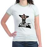 Can't.Hear.U. Jr. Ringer T-Shirt