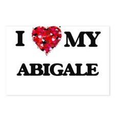 I love my Abigale Postcards (Package of 8)