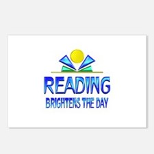 Reading Brightens the Day Postcards (Package of 8)