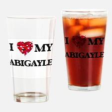 I love my Abigayle Drinking Glass