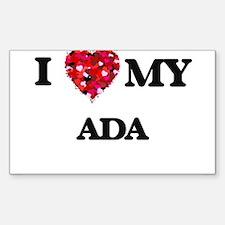 I love my Ada Decal