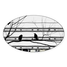 Two Love Birds Decal