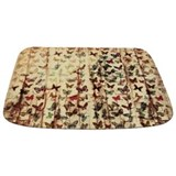 Wood grunge Memory Foam Bathmats