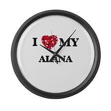 I love my Alana Large Wall Clock