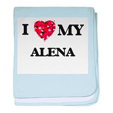 I love my Alena baby blanket