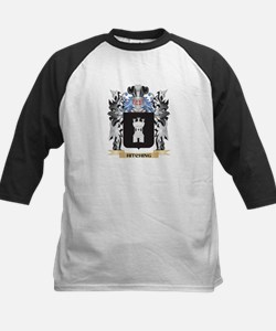 Hitching Coat of Arms - Family Cre Baseball Jersey
