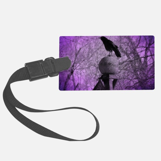 Surreal Caw Luggage Tag