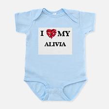I love my Alivia Body Suit