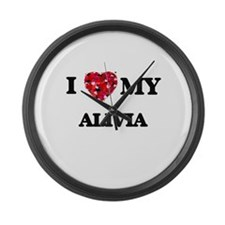 I love my Alivia Large Wall Clock