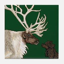 Tile Coaster - IWS & Reindeer