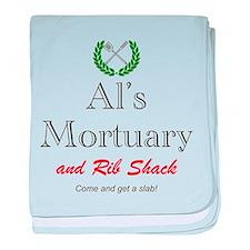 AL'S MORTUARY baby blanket