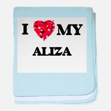 I love my Aliza baby blanket