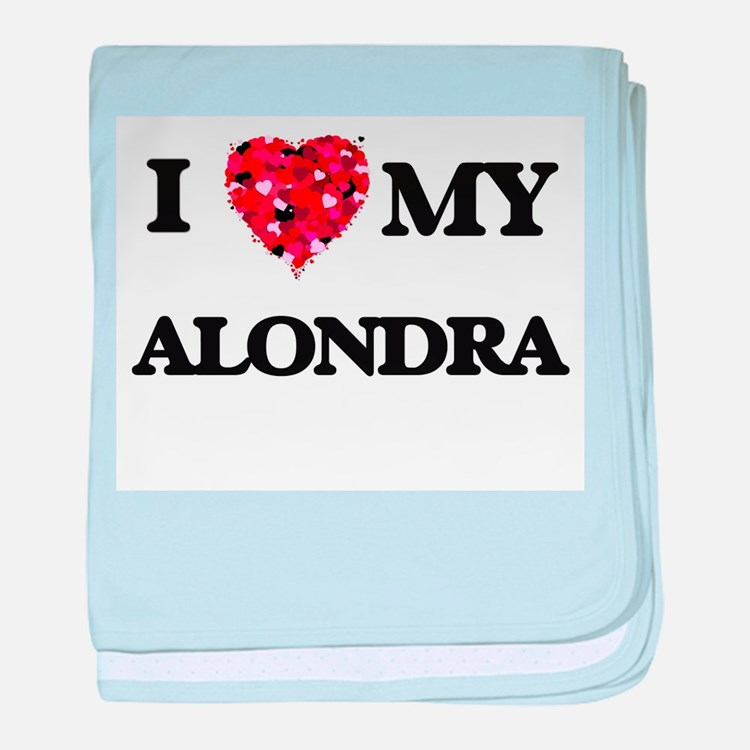 I love my Alondra baby blanket