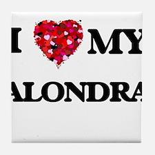 I love my Alondra Tile Coaster