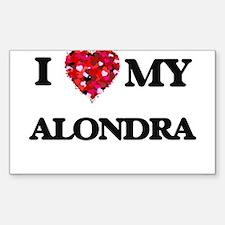 I love my Alondra Decal