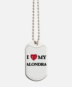 I love my Alondra Dog Tags