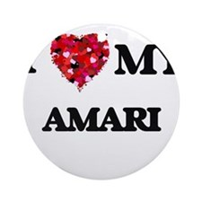 I love my Amari Ornament (Round)
