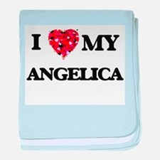 I love my Angelica baby blanket