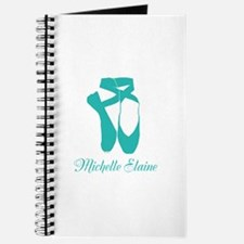 Team Pointe Ballet Aqua Personalize Journal
