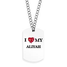 I love my Aliyah Dog Tags