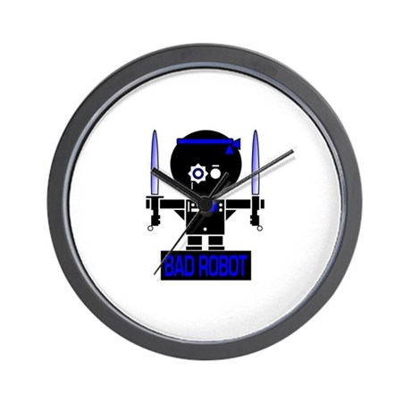 BAD ROBOT SABERS Wall Clock
