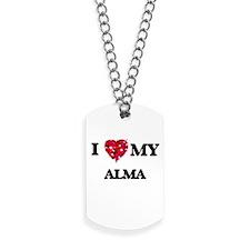 I love my Alma Dog Tags