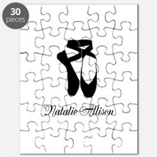 Team Pointe Ballet Midnight Personalize Puzzle