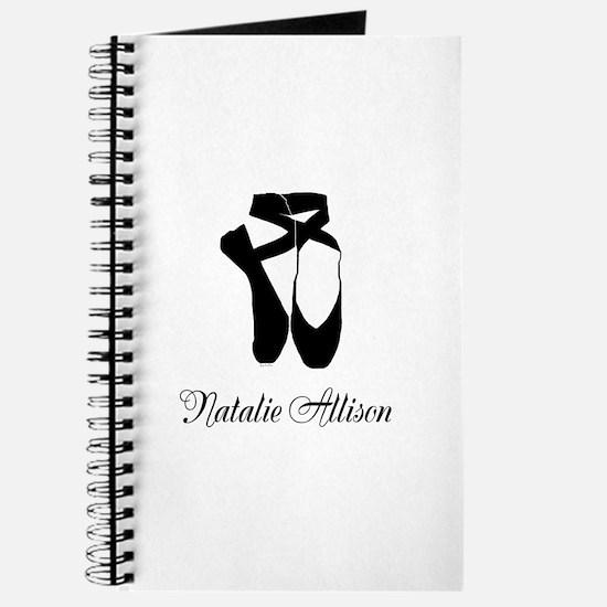 Team Pointe Ballet Midnight Personalize Journal