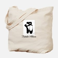 Team Pointe Ballet Midnight Personalize Tote Bag