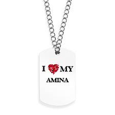 I love my Amina Dog Tags