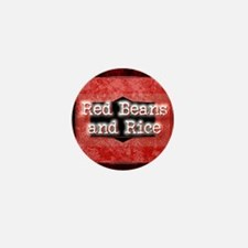 RED BEANS AND RICE Mini Button