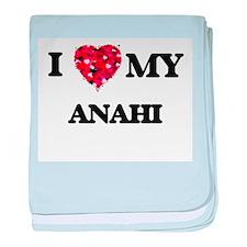 I love my Anahi baby blanket