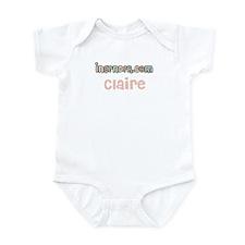Claire InGender.com creeper Infant Bodysuit