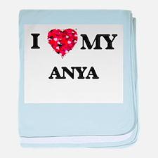 I love my Anya baby blanket