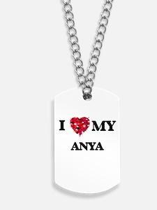 I love my Anya Dog Tags