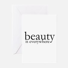 Beauty Greeting Cards