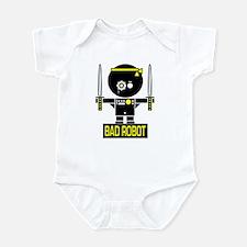 BAD ROBOT SWORDS Infant Bodysuit