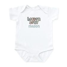 Mason Heaven-Sent creeper Infant Bodysuit
