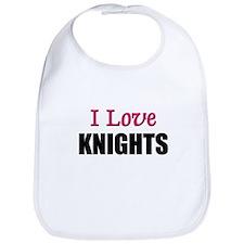 I Love KNIGHTS Bib