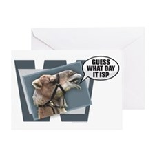 Cute Hump day Greeting Card