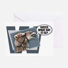 Unique Hump day Greeting Card