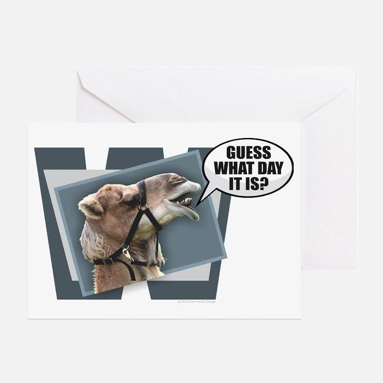 Cute Hump day Greeting Card