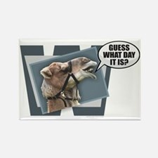 Cute Hump day Rectangle Magnet