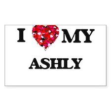 I love my Ashly Decal