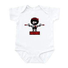 BAD ROBOT GUNS Infant Bodysuit