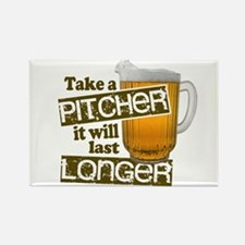 Beer Humor Take A Pitcher Magnets