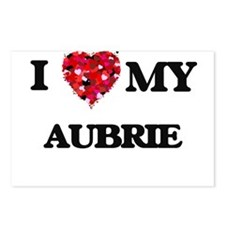 I love my Aubrie Postcards (Package of 8)