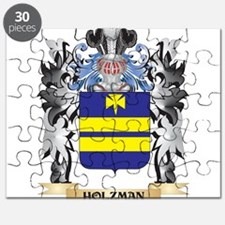 Holzman Coat of Arms - Family Crest Puzzle