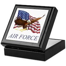 USAF Air Force Keepsake Box