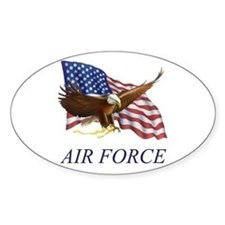 USAF Air Force Oval Decal
